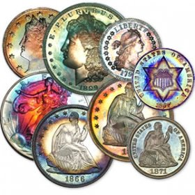 Toned Coins